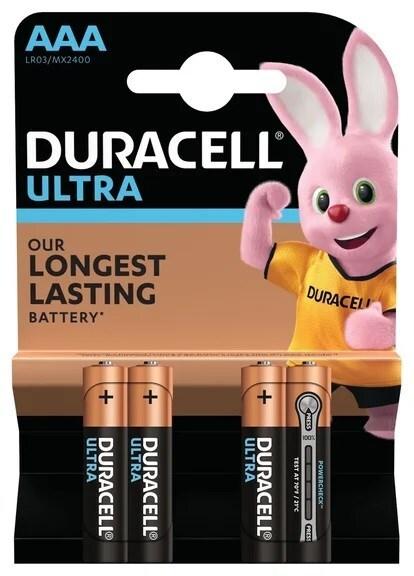 Батарейки Duracell Lr03-4Bl Ultra 4 шт на блистере фото