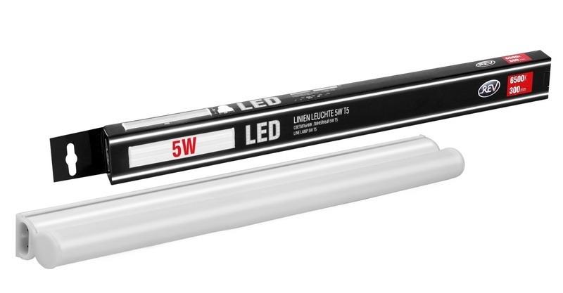 Купить со скидкой Светильник светодиодный Rev T5 Line 5W 6500K 300мм 28934 0