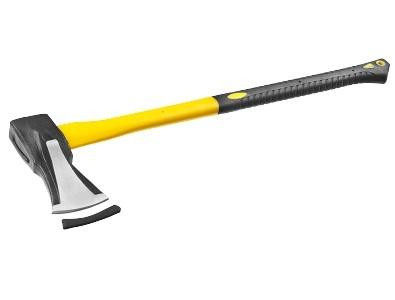 Купить со скидкой Топор-колун Stayer 2 кг клиновидн полотно 2-комп фиберглас ручка 880 мм 20623-20