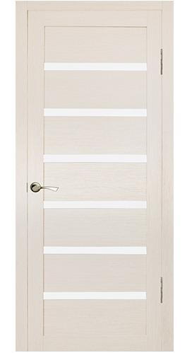 Купить со скидкой Дверь ламинированная Кл-7 900х2000мм лиственница кремовая