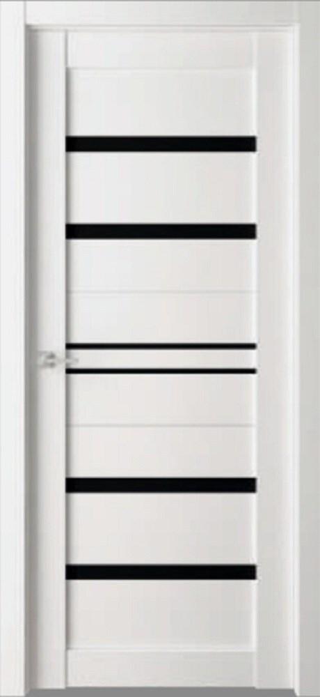 Дверь экошпон Пвх Дельта D3 900х2000мм лакобель/белый бьянко фото