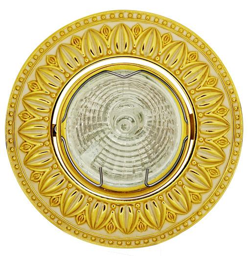 Купить Светильник De Fran Sd 116 Gwh G5.3 золото/белый