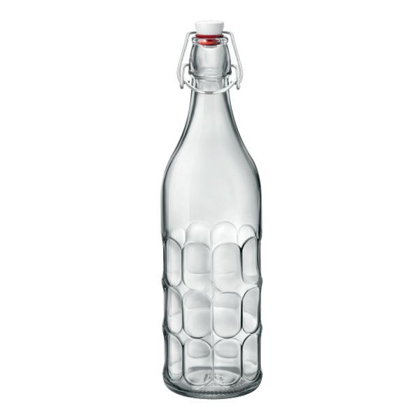 Купить Бутылка 1000мл Bormioli Rocco Moresca с герметичной бугельно B345930, прозрачный, стекло