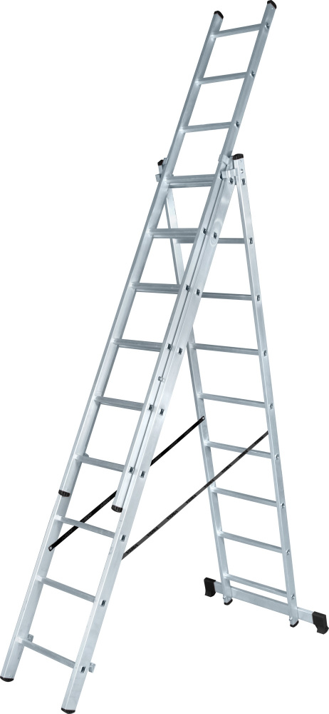 Лестница 3-х секционная 3х8 ступ. 1230308