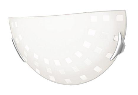 Купить Светильник Quadro 062 п/круг d300 E27 1*100W белый/хром, Сонекс