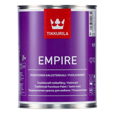 Краска для мебели Tikkurila EMPIRE A п/мат 2,7л