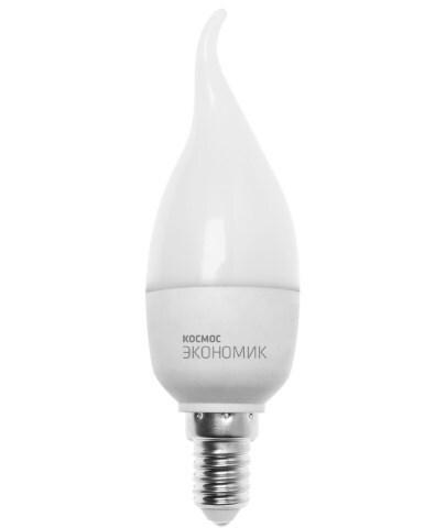 Купить Лампа светодиодная Космос свеча на ветру Cw 220V 7.5W E14 4500K