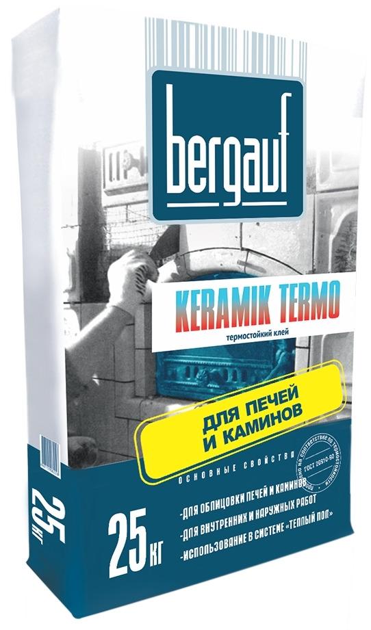 Клей для плитки Bergauf Keramik Termo 25кг фото