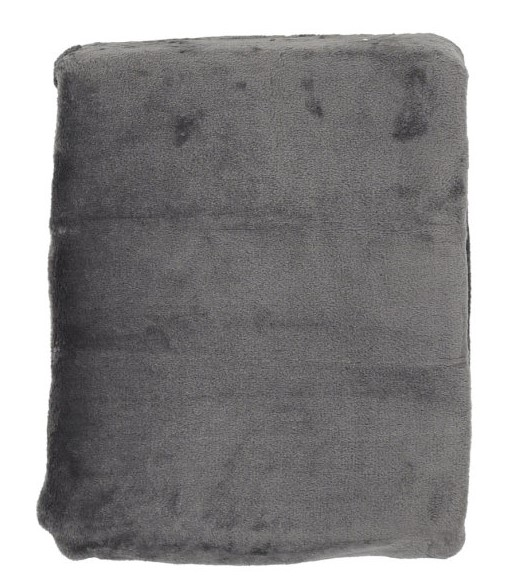 Плед микрофибра Plain дымчато-серый 140х200 6142818