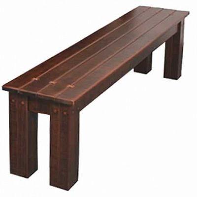 Купить М-Ротанг Koda Скамья 03.7 180 См, Olimar, коричневый, дерево