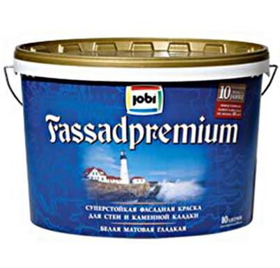 Купить со скидкой Краска акриловая Jobi FassadPremium фасадная матовая 10л