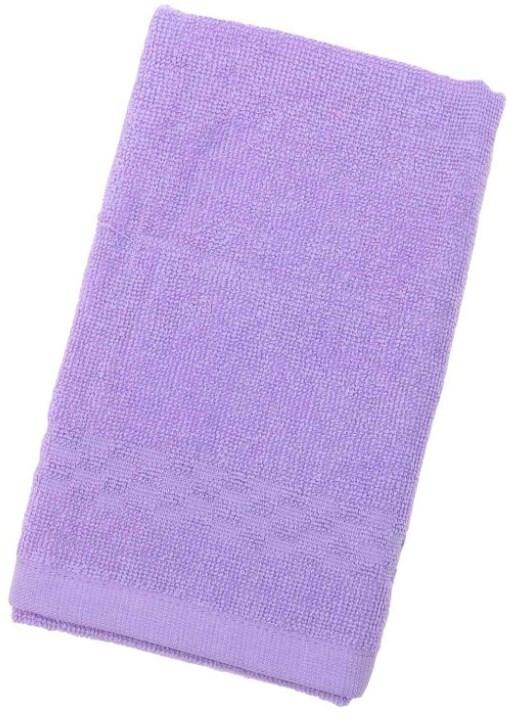 Полотенце Collorista однотонное, цв. фиолетовый, 40*70 см, 400 гр/м2 1204693 фото