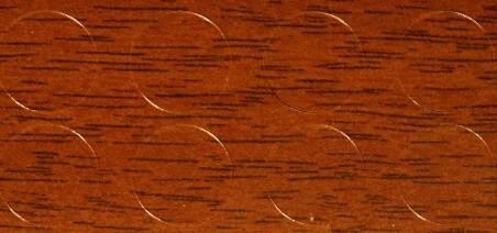 Заглушка самокл. d12 орех темный (20) 109117/801765 фото