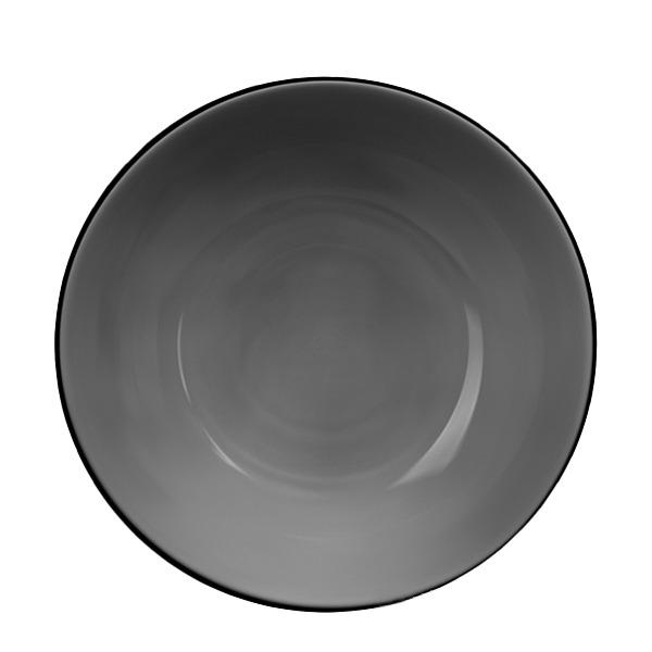 Купить Тарелка суповая 20, 8 см Lumanarc Директор Графит N5759, Luminarc, серый, стекло