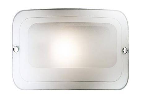 Купить Светильник Tivu 1271 квадрат 200*295 E27 1*60W белый/хром, Сонекс