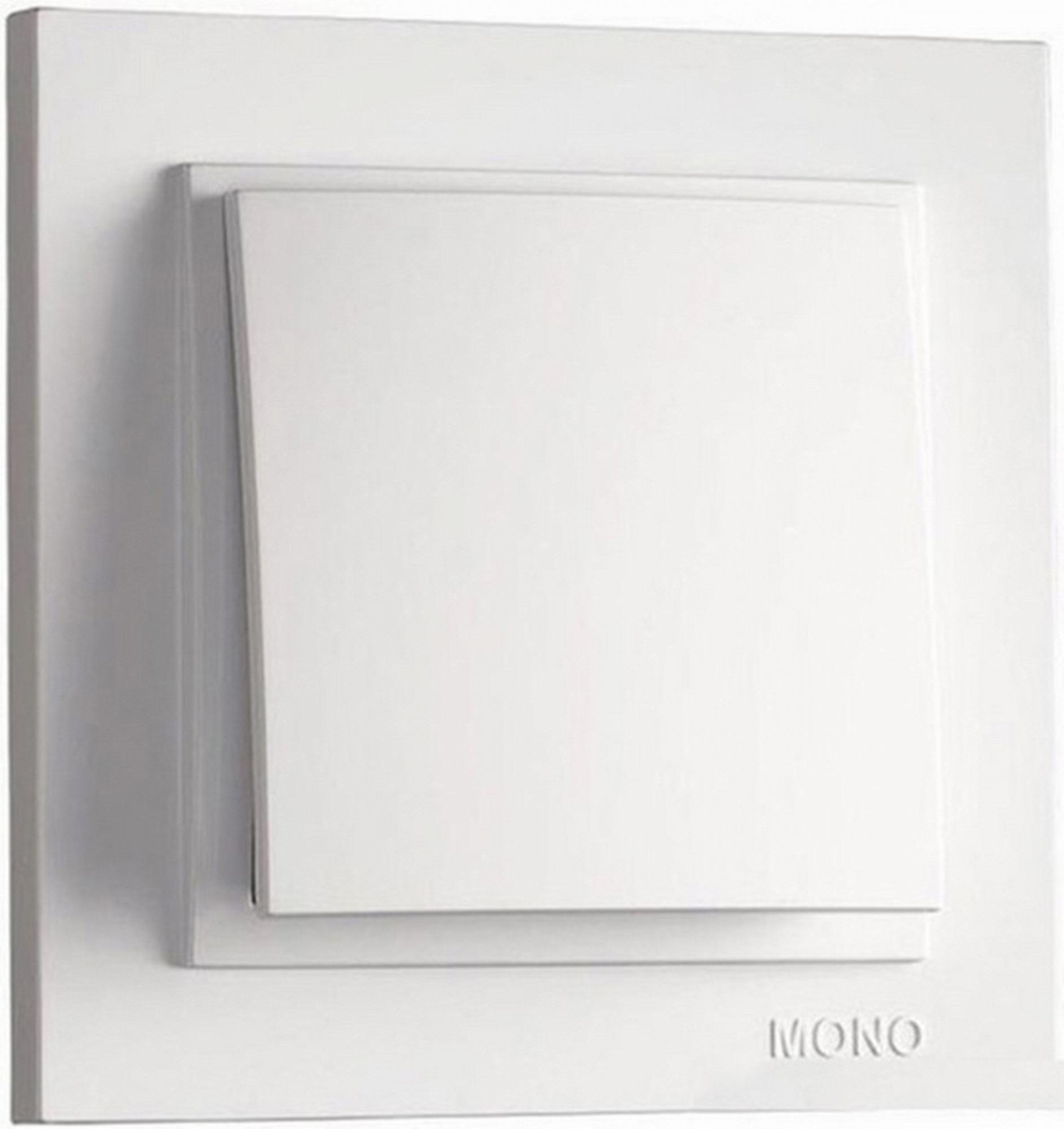 Выключатель Mono Despina 1кл белый 102-190025-100 фото