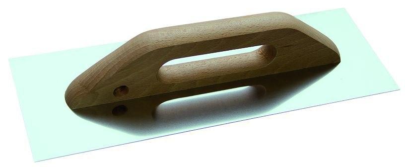 Гладилка нержавеющая деревянная ручка Т4р 130 х 480мм 1403008