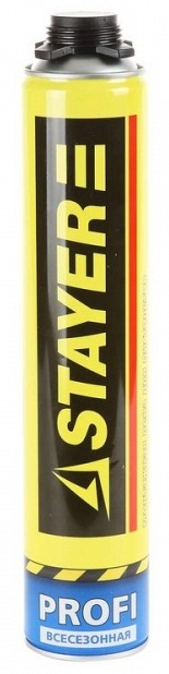 Пена монтажная профессиональная всесезонная Stayer Pro 750мл 41135 фото