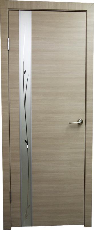 Купить со скидкой Дверь пвх Стиль1 700х2000мм неаполь стекло белое