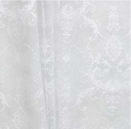 Купить со скидкой Тюль вуаль 300х260см Т100-00 белая с узором