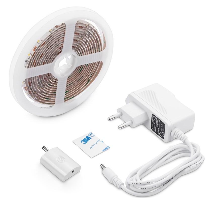 Комплект светодиодной подсветки Apeyron 12W 60д/м 1,5м сенсор (10-87) фото