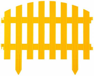 """Забор декоративный GRINDA """"АР ДЕКО"""", 28x300см, желтый/зеленый купить в Оренбурге по низкой цене - Стройландия"""