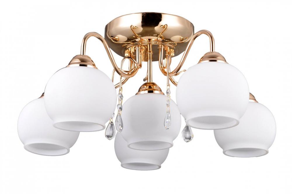 Купить Люстра Villagio Md38225/5+1 E27*40W французское золото