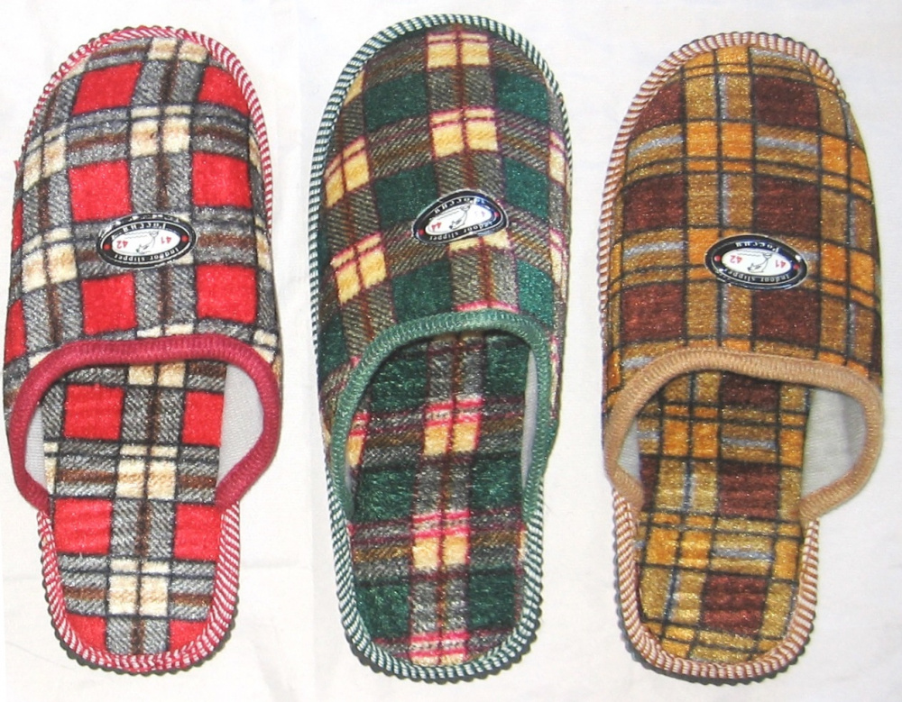 Купить Туфли комнатные мужские А-160 Клет (р.41-46, 10п/у), S.mister, текстиль