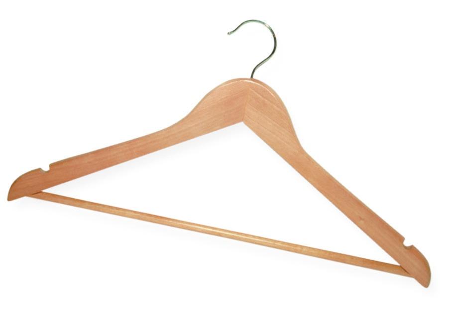 Купить Вешалка York деревянная 67500, светло-коричневый, дерево
