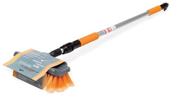 Купить Швабра для мытья с мягкой щетиной и насдкой для шланга 200см Airline Ab-Н-01