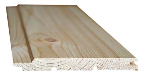 Вагонка деревянная сортАВ 12.5Х96(88)Х2400 мм хвоя фото