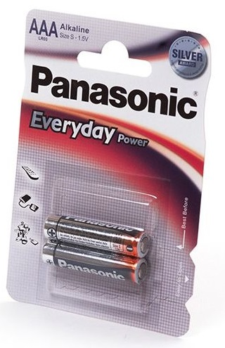 Элемент питания Panasonic Lr03 (Aaa) Everyday Power Bl2