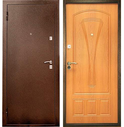Купить со скидкой Дверь металлическая Уд-104 960х2050мм миланский орех левая