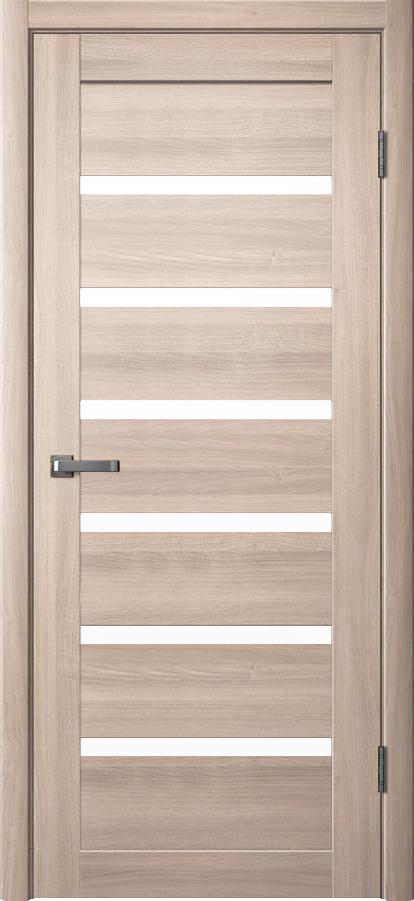 Дверь эколайн Юта 1 До 600х2000мм дуб шенон/сатинат фото