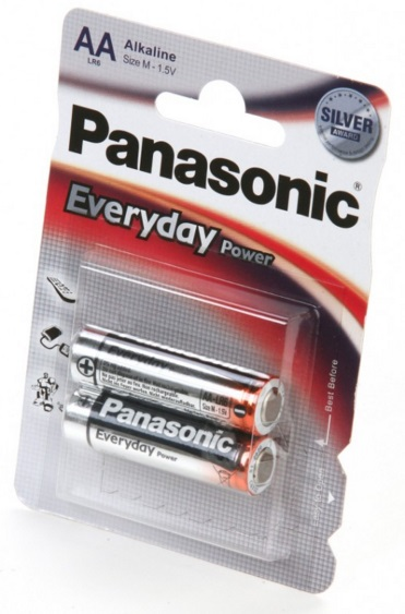 Элемент питания Panasonic Lr6 (Aa) Everyday Power Bl2