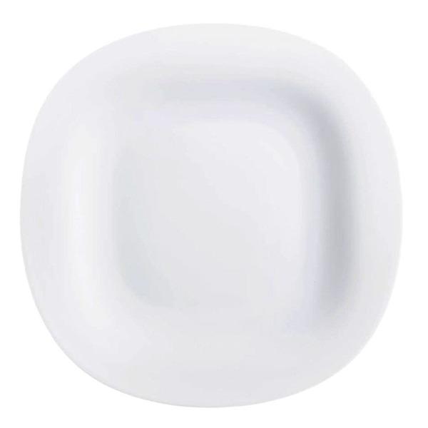 Купить Тарелка обеденная 26 см Luminarc Нью Карин белая H5604, белый, стекло