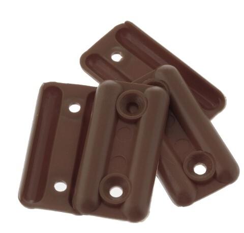 Подпятник пласт.тем.коричневый 127511 фото