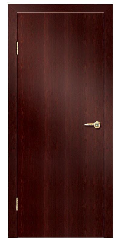 Купить со скидкой Дверь ламинированная 01 800х2000мм 21-09 венге глухая