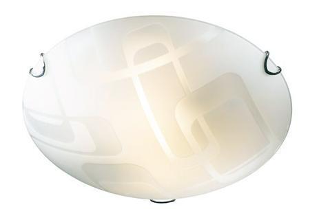 Купить Светильник Halo 157/K круг d300 E27 1*100W /2*60W белый/хром, Сонекс