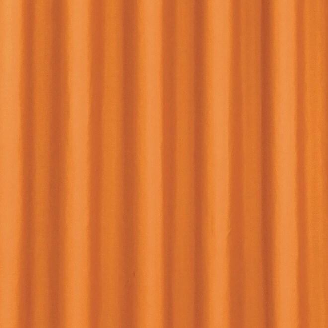 Штора портьера 200х260 однотонный оранжевый w1687V72199 фото