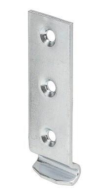 Крючок Г-образный Vormann 83х25х2,5 мм выгнутый, оцинкованный 00009 025 Z к замку для ящика фото