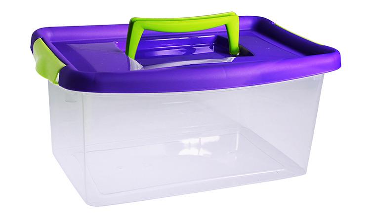 Контейнер 4л Идея фиолетовый М 2871 фото