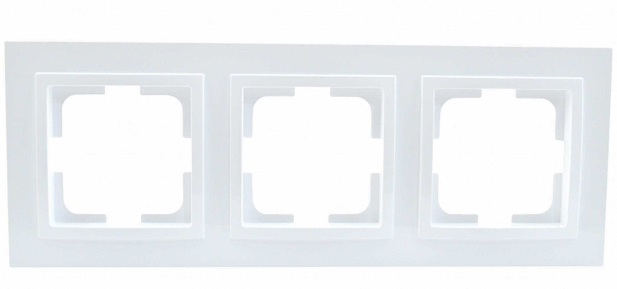 Рамка Mono Despina 3-я белый 102-190000-162 фото
