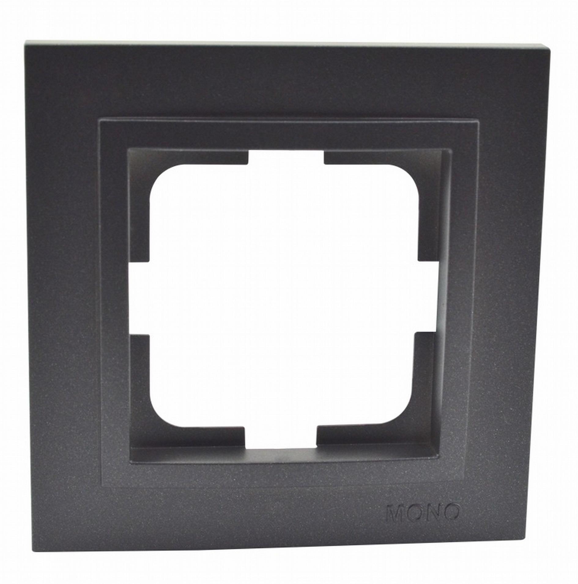 Рамка Mono Despina 1-я графит 102-200000-160 фото