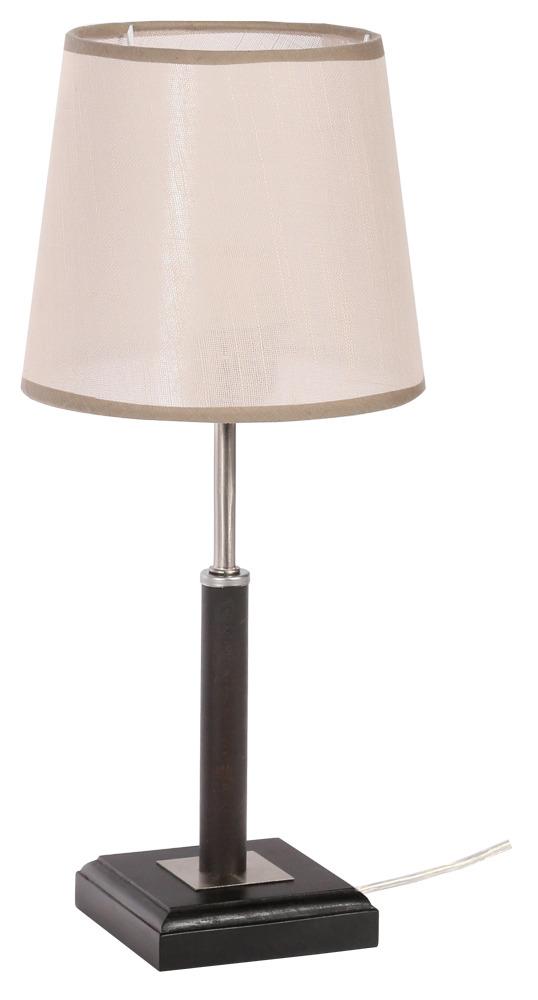 Купить Настольная лампа Шери 1хЕ27х40Вт венге 155-41-11Т, Дубравия