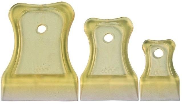 Шпатель резиновый - пвх T4p набор 40/60/80мм 1209003 фото