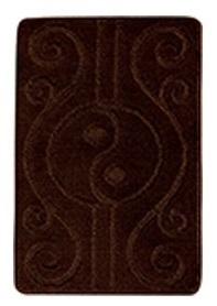 Купить со скидкой Коврик д/ванной Zalel 4466 коричневый 55*85