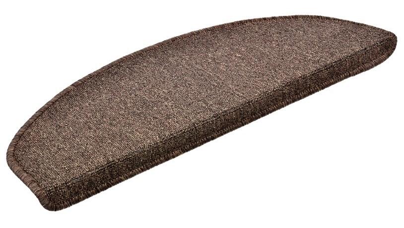 Коврик на ступени 25*65 темно-коричневый 27002 фото