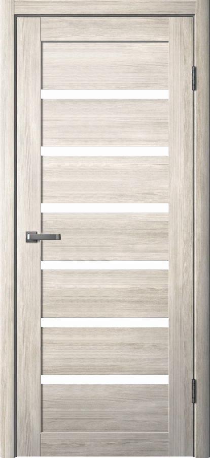 Дверь эколайн Юта 1 До 900х2000мм дуб альпин/сатинат фото