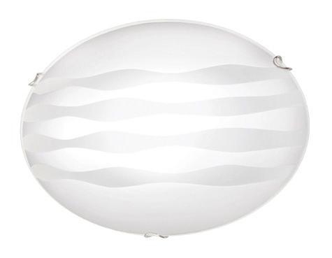 Купить со скидкой Светильник Ondina 233 круг d400 E27 2*100W белый/хром